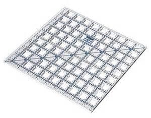 truecut square quilting rulers
