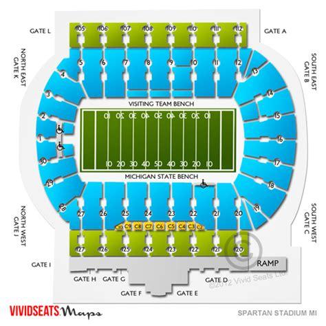 Spartan Ticket Office by Spartan Stadium Mi Tickets Spartan Stadium Mi Seating