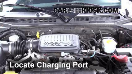 How to Add Refrigerant to a 1997 2004 Dodge Dakota   2004