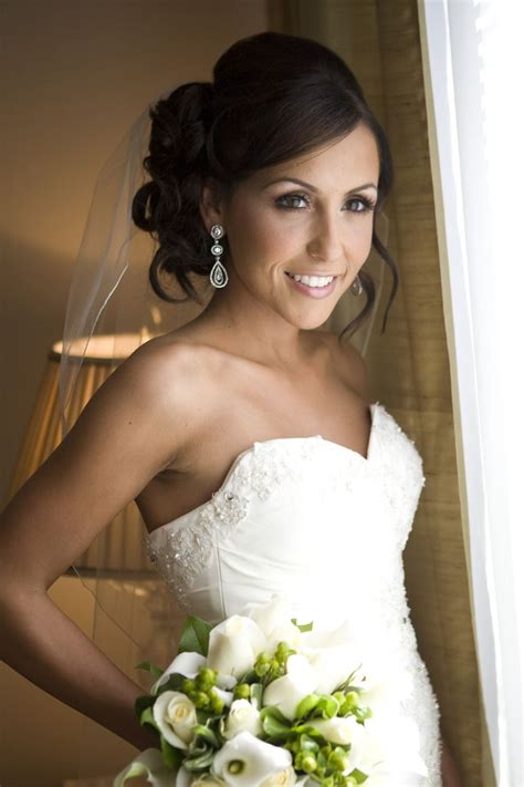Wedding Hairstyles For Brunettes by Wedding Makeup For Brunettes Search Wedding