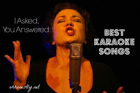 asked  answered  karaoke songs