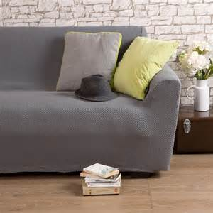 housse de canap 233 2 places bi extensible gris