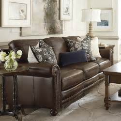 17 best ideas about brown leather couches on