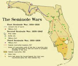 map of florida seminole tribe west the exit of the