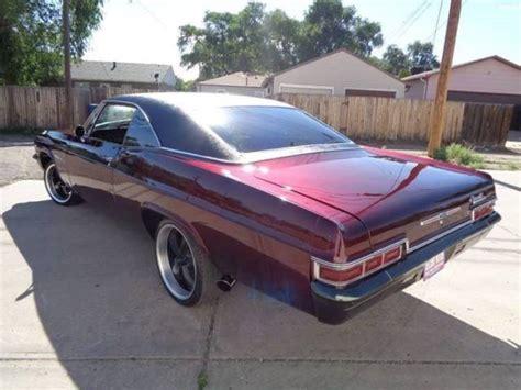 rwd impala 1966 chevrolet impala ss automatic rwd v8 7 4l gasoline