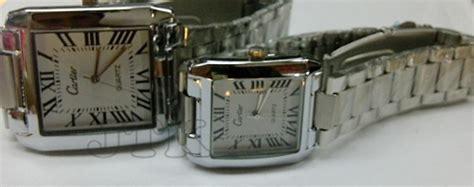 Jam Cartier Cowok Cewek Bisa Pakai cartier romawi kotak rp 150 000