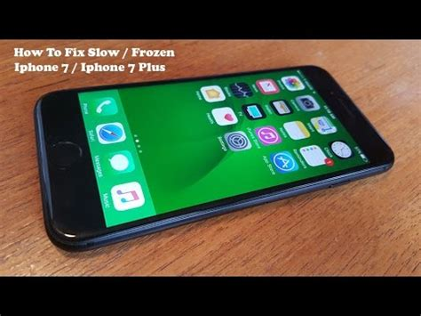 5 ways to fix or frozen iphone 7 iphone 7 plus fliptroniks