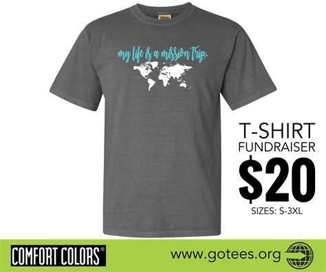 design a shirt fundraiser hope missions t shirt fundraising
