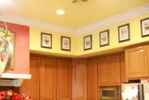 Decorating Ideas For A Kitchen Soffit Out Of The Attic Decorating On The Cheap
