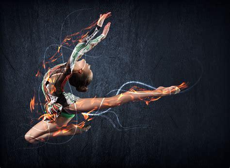 imagenes gimnasia artistica femenina menarquia y deporte mundo entrenamiento