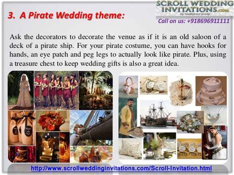 top 5 most popular wedding themes
