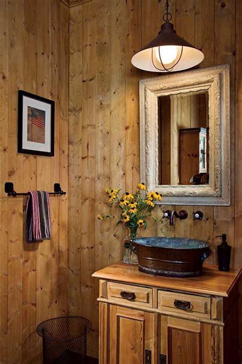 cool  comfy rustic bathroom designs interior vogue