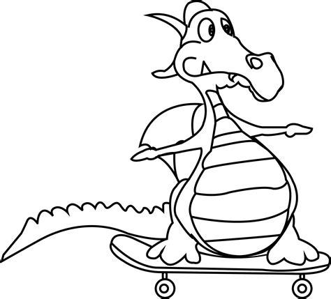 cartoon dragon coloring page cartoon dragon very funny coloring pages coloringsuite com