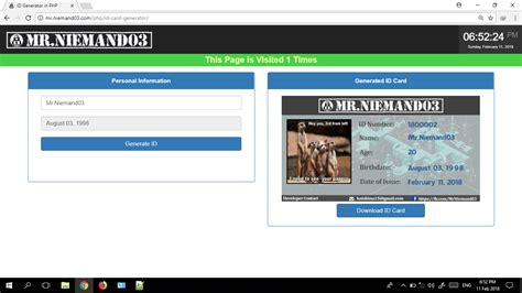 tutorial php generator id generator in php free source code tutorials and articles