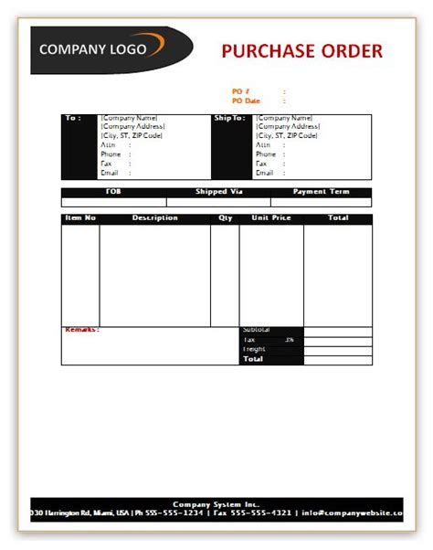 Purchase Order Format On Letterhead 1000 Images About Microsoft Word Templates On Balance Sheet Template Free