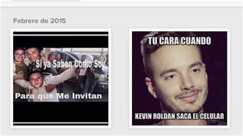 imagenes de kevin roldan y cristiano ronaldo j balvin critica con memes a kevin rold 225 n por fiesta de