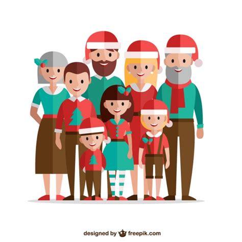 Family Natal I Do family in flat design vector premium