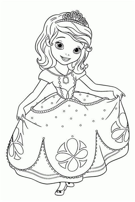 dibujos de princesas de disney dibujos para colorear dibujos de la princesa sofia para colorear dibujos disney