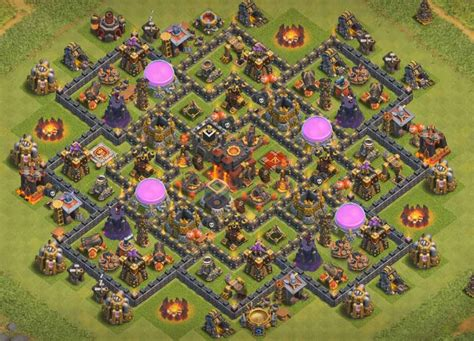 defensive war base for th10 top 40 best town hall 10 bases 2017 war farming