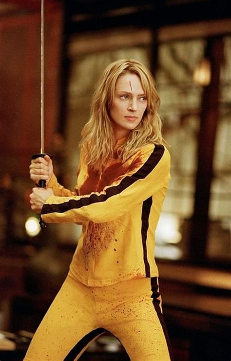 uma thurmans hair in kill bill beautiful women action stars lucy liu tes and the bride