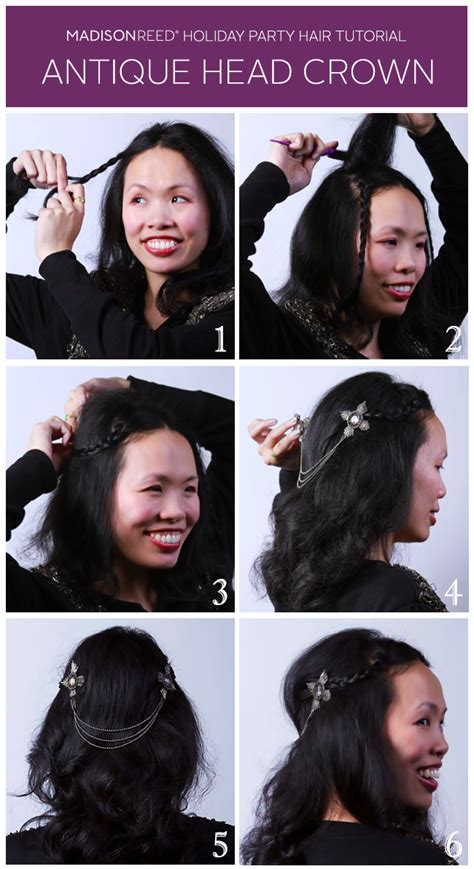 lift on crown of head holiday hair tutorial antique head crown life with six