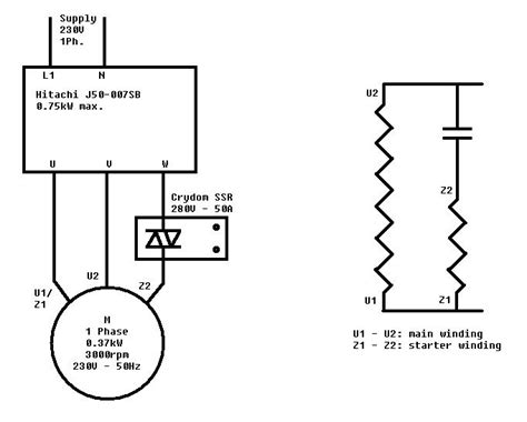 motor wiring diagram single phase with capacitor 220v single phase motor wiring 30 wiring diagram images