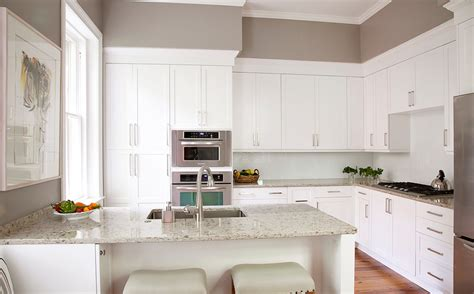 Plain Kitchen Cabinets Home Design Plain White Kitchen Cabinets