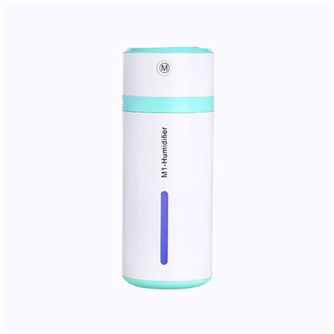 Small Fish Humidifier Usb Charging With Color Led L Humidifier 18 m1 2w usb charging portable bottle design aromatherapy humidifier with led colorful light for