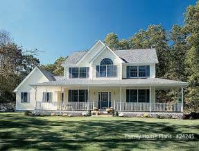 House Plans With Large Front Porch by Country Home Designs Country Porch Plans Country Style