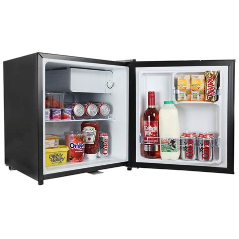 Table Top Refrigerator by Iceq 48 Litre Table Top Lockable Fridge Black