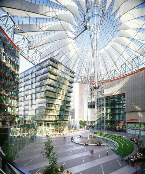 www architecture com sony center berlin architecture style