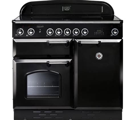 kitchen master induction cooker buy rangemaster classic 100 electric induction range cooker black chrome free delivery