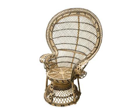 chaise emmanuelle grande chaise en rotin dans le style des 233 es 70 224 la