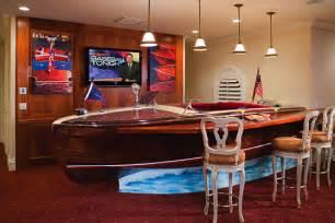 Boat Bar Boat Turned Into Unique Bar International Design Awards