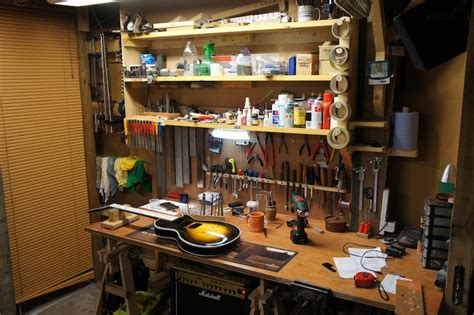 guitar repair bench jack s instrument services manchester guitar setup and