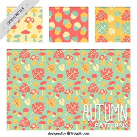 pattern warm color beautiful patterns in warm colors vector free download