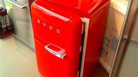 smeg marktplaats fab10lr video smeg retro koelkast rood de schouw