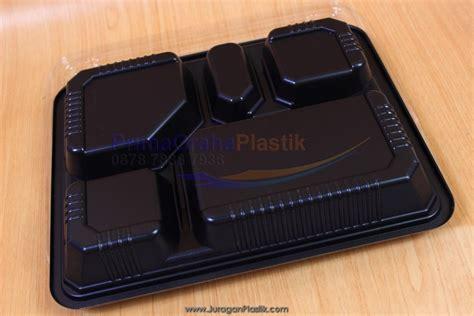 Box Bento Putih box bento hitam quot 5 sekat quot stock ready home