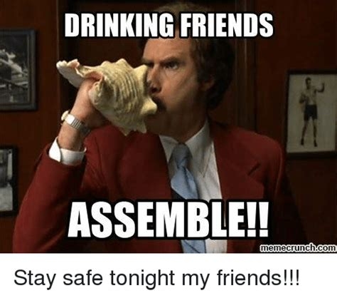 Drinking Memes - 25 best memes about drinking friends assemble drinking