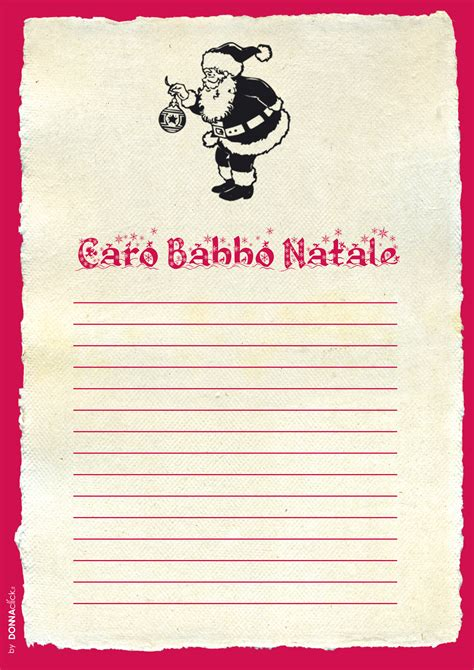 lettere x babbo natale lettere per babbo natale da stare gratis foto