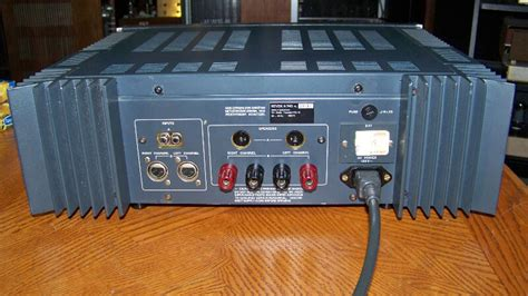 revox  power amplifier  trades stereo