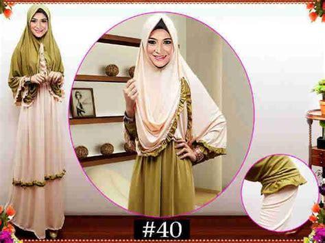Busana Muslim Wanita Baju Gamis Wanita Muslimah Bergo 1 baju gamis set bergo syari y 607 busana muslim