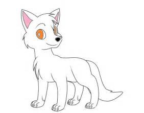 How To Draw An Easy Fox Step 4 1 000000034197 5 sketch template