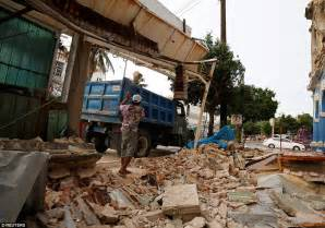 earthquake oaxaca mexico hit by tropical storm katia after earthquake