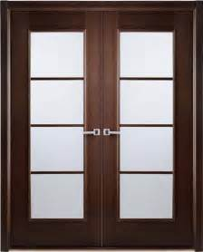 modern interior bifold doors frosted glass