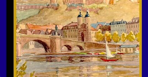 watercolor tattoo heidelberg heidelberg by alfred osso 1956 a view of heidelberg and