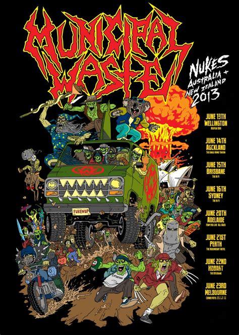 Mucipal Waste municipal waste metal odyssey gt heavy metal
