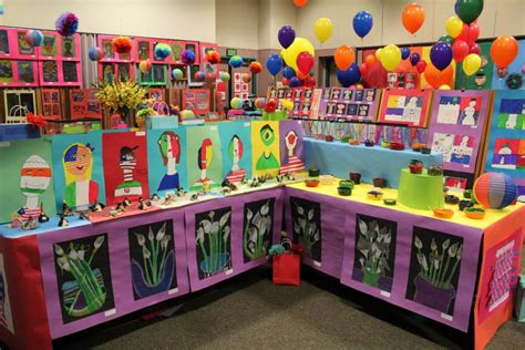 10 diy kids art displays to make them proud kidsomania art display ideas more art show display ideas k 6 artk 6 art