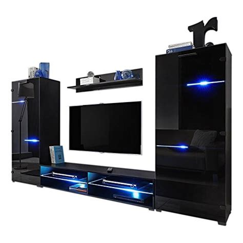 Modern Wall Unit Entertainment Center by Modern Entertainment Center Wall Unit With Led Lights 70