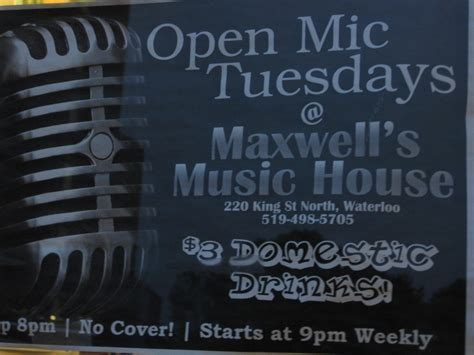 maxwells music house venue maxwell s music house waterloo the open stage adventure